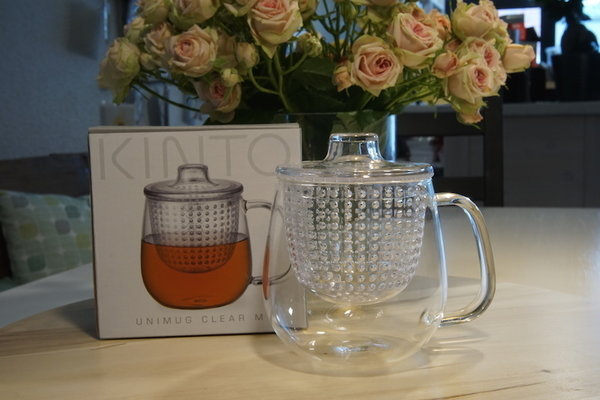 Kinto UNIMUG Medium clear 450 ml