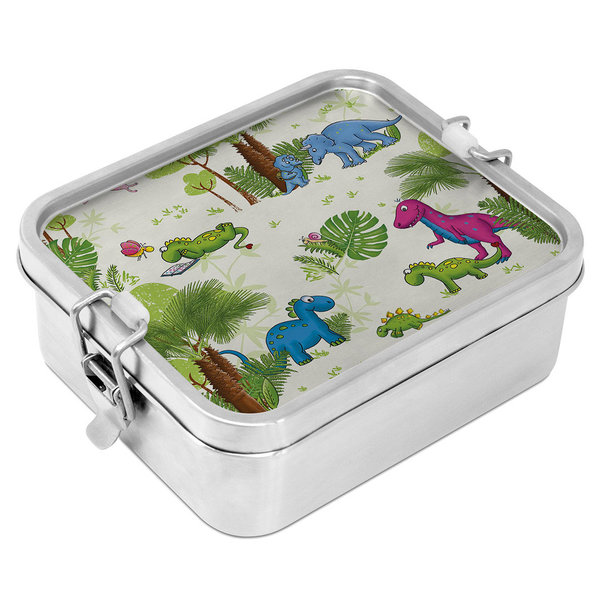 ppd Dinos Steel Lunch Box